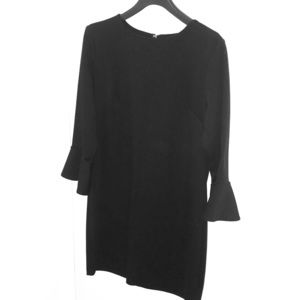 Black Old Navy Bell Sleeve Dress